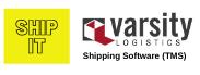 SHIP IT Varsity Logistics software